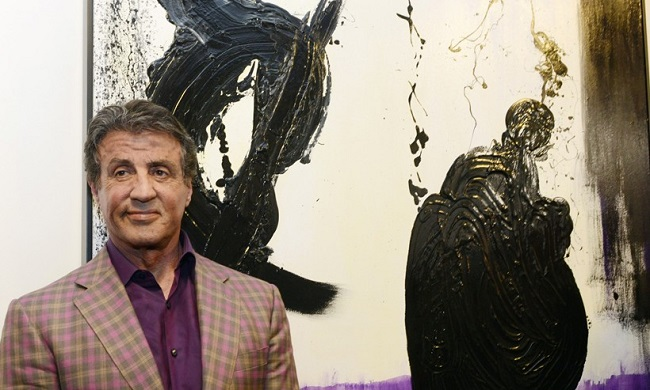stallone paintings reuters 820x493