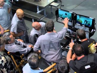 Sylvester Stallone na planie filmu Plan ucieczki 3