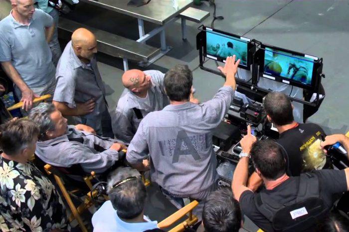 """Sylvester Stallone na planie filmu """"Plan ucieczki 3"""""""