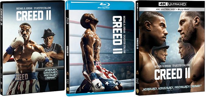 Creed II na DVD/Blu-Ray/4K Ultra HD