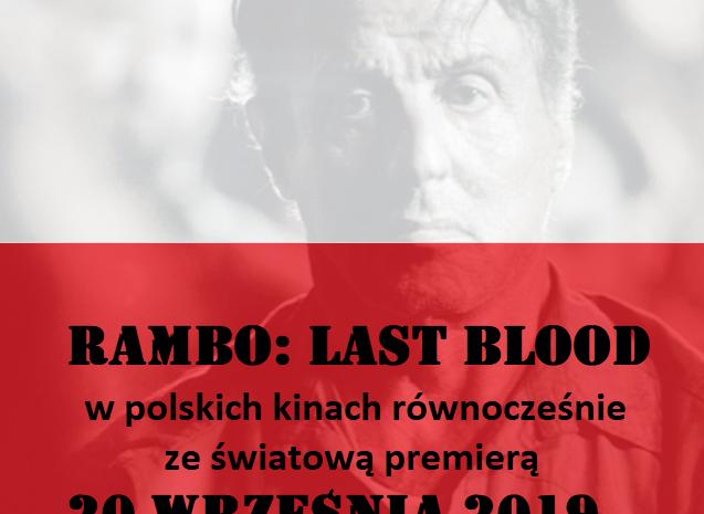 Polska premiera Rambo: Last Blood