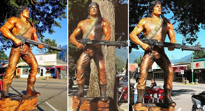 Drewniany Rambo