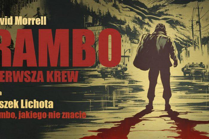 Rambo: Pierwsza krew w Storytel. Czyta Leszek Lichota.
