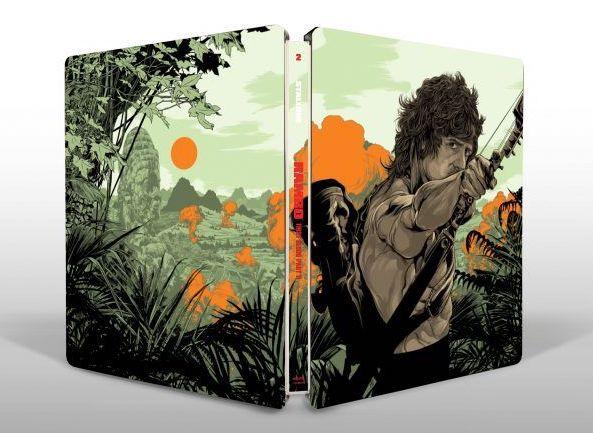 Rambo Steelbook 4K Blu-ray Collection