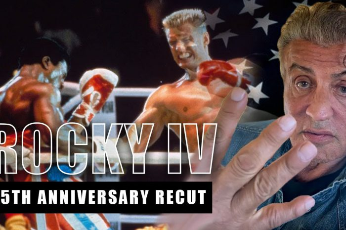 Behind The Scenes – ROCKY IV RE-CUT: Sylvester Stallone