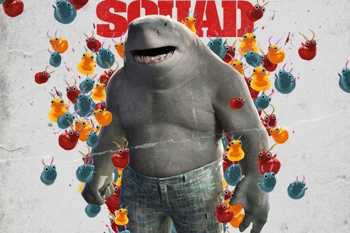 King Sly jako King Shark w zwiastunie Legionu samobójców