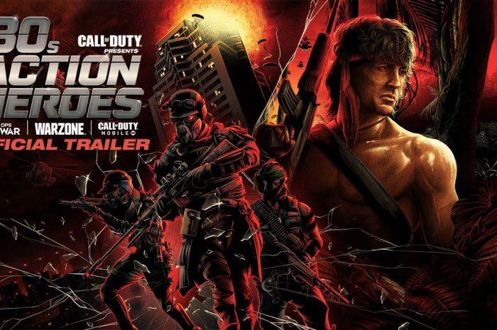Rambo i McClane w COD Black Ops Cold War i Warzone