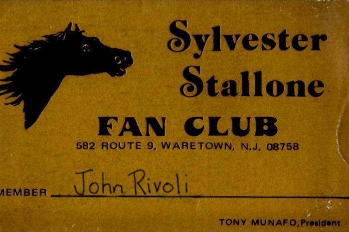 Sylvester Stallone Fan Club. Tony Munafo