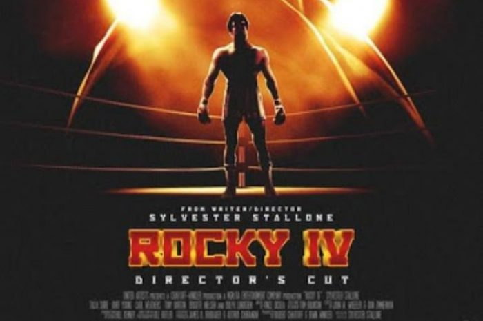 Rocky IV Director's Cut. Plakat został ujawniony.