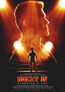Rocky IV Director's Cut Poster. Plakat 2022.
