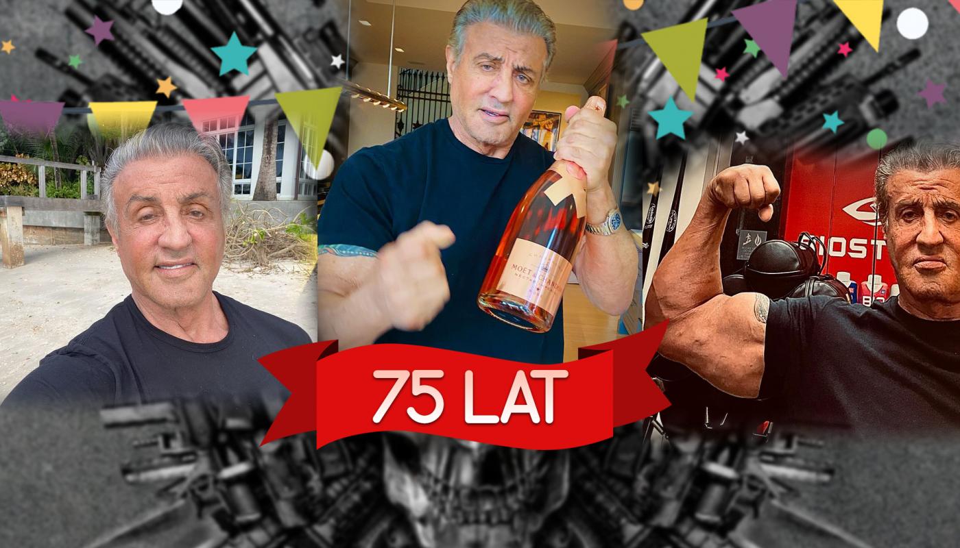 75 urodziny Stallone